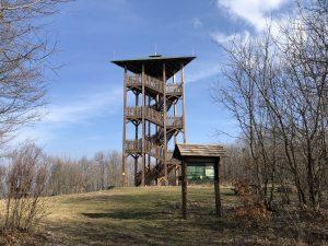 Körtvélyes kilátó (420 m)